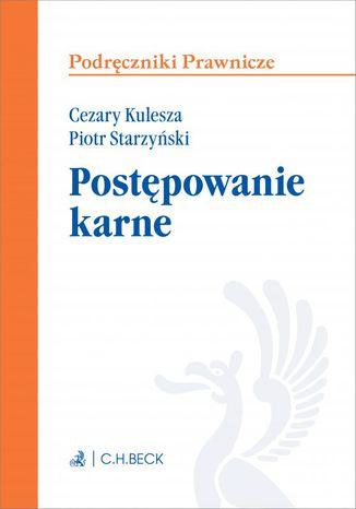 Okładka książki/ebooka Postępowanie karne