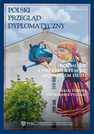 Okładka książki Polski Przegląd Dyplomatyczny 1/2016