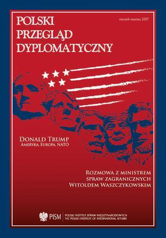 Okładka książki Polski Przegląd Dyplomatyczny 1/2017