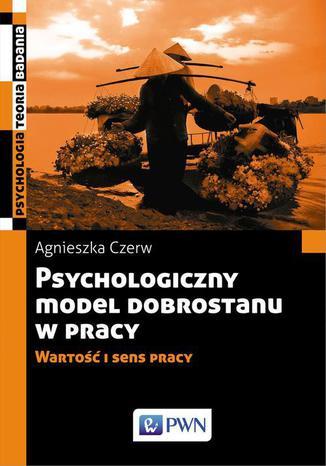 Okładka książki Psychologiczny model dobrostanu w pracy. Wartość i sens pracy