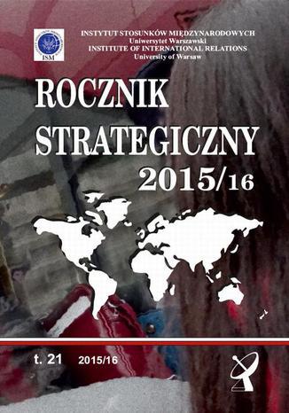 Okładka książki/ebooka Rocznik Strategiczny 2015/16