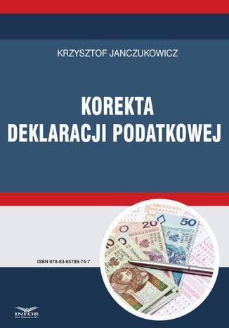 Okładka książki Korekta deklaracji podatkowej
