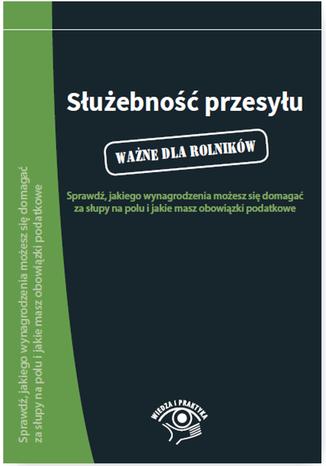 Okładka książki/ebooka Służebność przesyłu