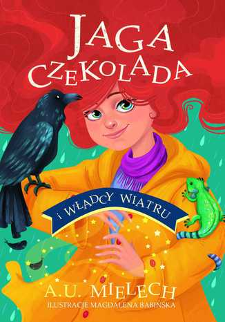 Okładka książki Jaga Czekolada i władcy wiatru. T. 2