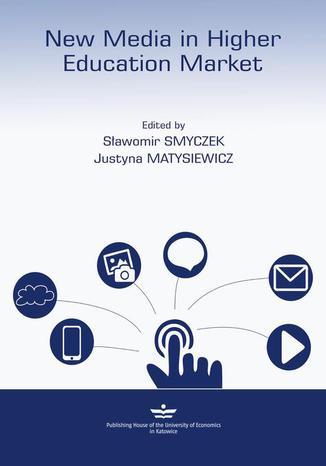 Okładka książki New Media in higher education market
