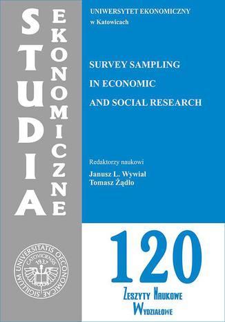 Okładka książki Survey Sampling in Economic and Social Research. SE 120