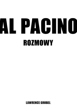 Okładka książki/ebooka Al Pacino. O sobie samym