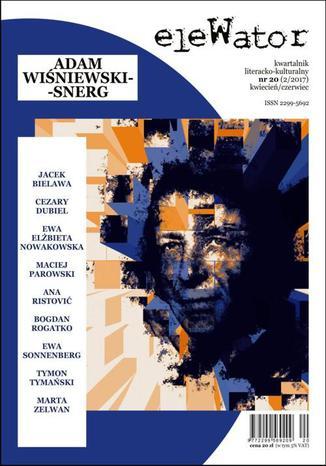Okładka książki/ebooka eleWator 20 (2/2017) - Adam Wiśniewski-Snerg