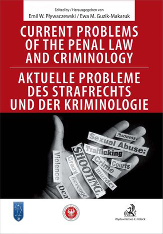 Okładka książki Current problems of the penal Law and Criminology. Aktuelle probleme des Strafrechs und der Kriminologie