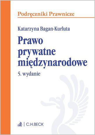 Okładka książki/ebooka Prawo prywatne międzynarodowe. Wydanie 5