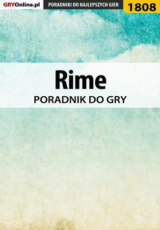 Okładka książki Rime - poradnik do gry