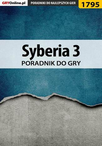 Okładka książki Syberia 3 - poradnik do gry