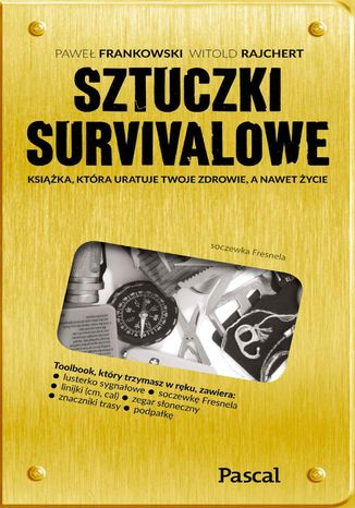 Okładka książki Sztuczki survivalowe