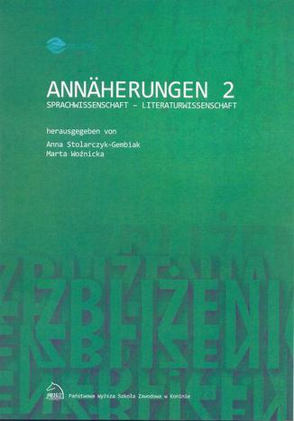 Okładka książki Annäherungen 2 Sprachwissenschaft - Literaturwissenschaft