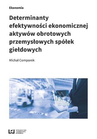 Okładka książki Determinanty efektywności ekonomicznej aktywów obrotowych przemysłowych spółek giełdowych