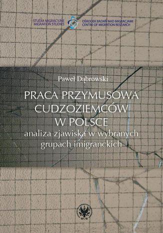 Okładka książki Praca przymusowa cudzoziemców w Polsce. Analiza zjawiska w wybranych grupach imigranckich