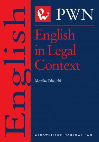 Okładka książki/ebooka English in Legal Context