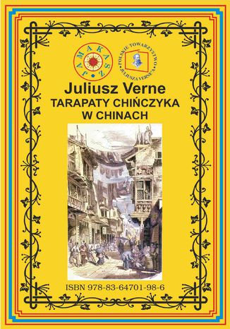 Okładka książki Tarapaty Chińczyka w Chinach. Pierwsze pełne tłumaczenie