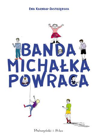Okładka książki Banda Michałka powraca