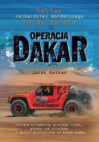 Okładka książki Operacja Dakar