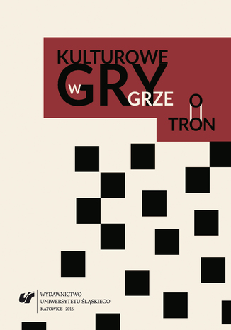 Okładka książki/ebooka Kulturowe gry w 'Grze o tron'