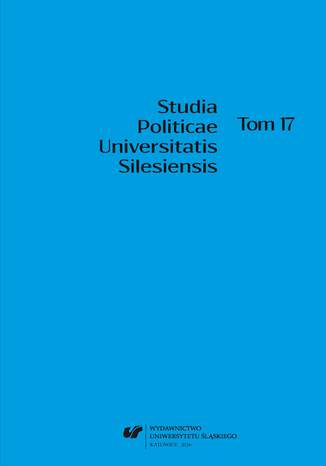 Okładka książki 'Studia Politicae Universitatis Silesiensis'. T. 17