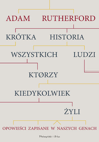 Okładka książki/ebooka Krótka historia wszystkich ludzi, którzy kiedykolwiek żyli. Opowieści zapisane w naszych genach