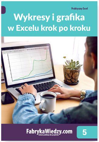 Okładka książki/ebooka Wykresy i grafika w Excelu krok po kroku