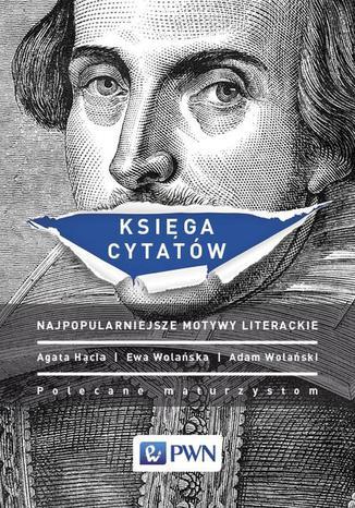 Okładka książki/ebooka Księga cytatów. Najpopularniejsze motywy literackie