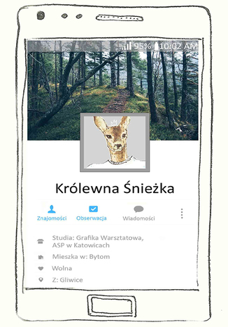 Okładka książki/ebooka Królewna Śnieżka
