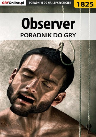 Okładka książki/ebooka Observer - poradnik do gry