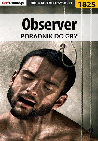 Okładka książki Observer - poradnik do gry