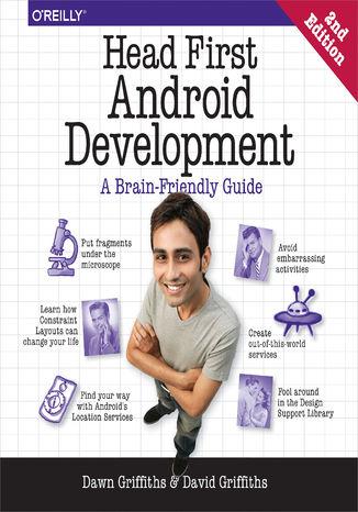 Okładka książki Head First Android Development. A Brain-Friendly Guide. 2nd Edition
