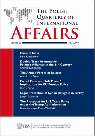 Okładka książki The Polish Quarterly of International Affairs nr 1/2017