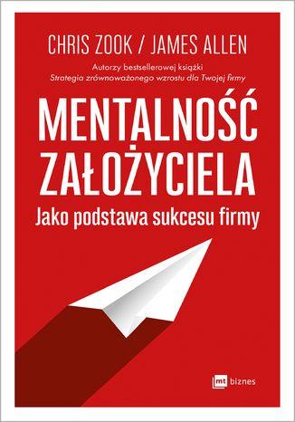 Okładka książki Mentalność założyciela jako podstawa sukcesu firmy