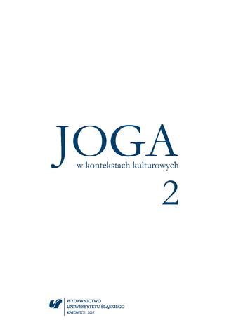 Okładka książki Joga w kontekstach kulturowych 2