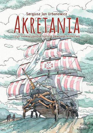 Okładka książki Akretania