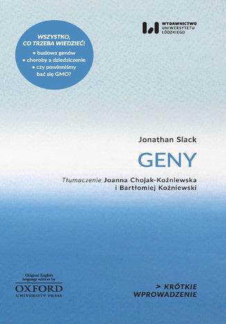 Okładka książki Geny. Krótkie Wprowadzenie 6