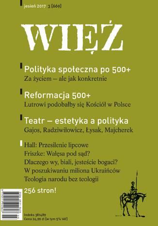 Okładka książki Więź 3/2017