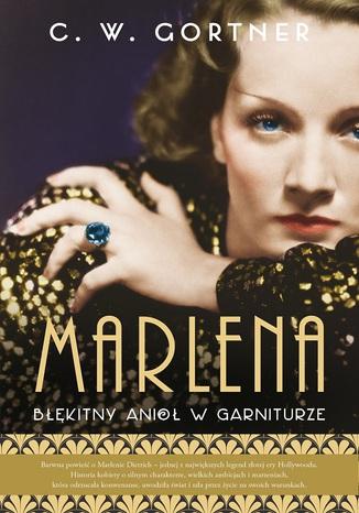 Okładka książki Marlena Błękitny anioł w garniturze