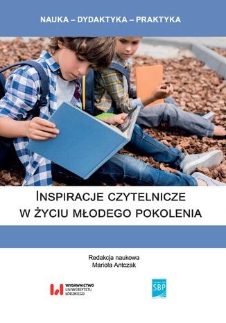 Okładka książki/ebooka Inspiracje czytelnicze w życiu młodego pokolenia