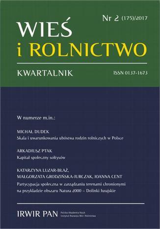 Okładka książki/ebooka Wieś i Rolnictwo nr 2(175)/2017
