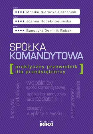 Okładka książki/ebooka Spółka komandytowa. Praktyczny przewodnik dla przedsiębiorcy