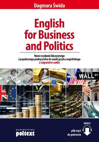 Okładka książki/ebooka English for Business and Politics. Wersja z przykładami audio
