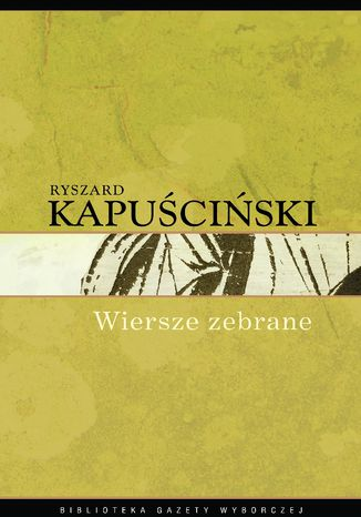 Okładka książki/ebooka Wiersze zebrane