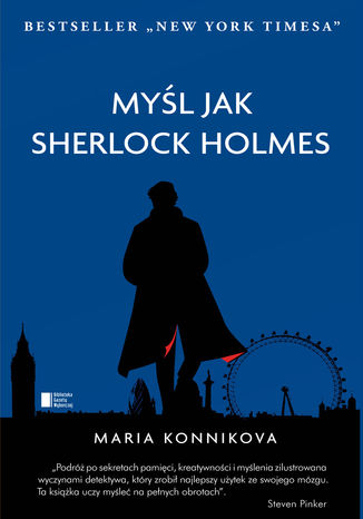 Okładka książki/ebooka Myśl jak Sherlock Holmes
