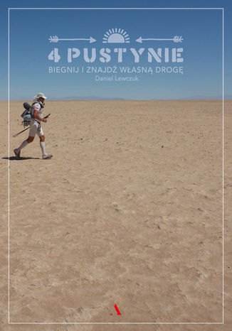 Okładka książki 4 pustynie