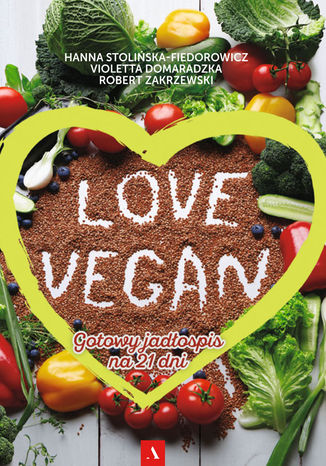 Okładka książki Love Vegan