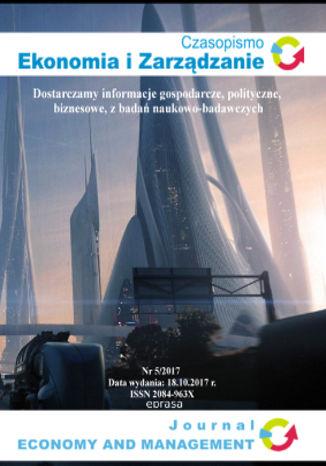 Okładka książki/ebooka Czasopismo Ekonomia i Zarządzanie nr 5/2017