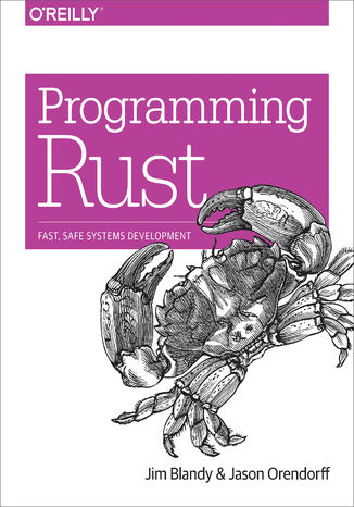 Okładka książki/ebooka Programming Rust. Fast, Safe Systems Development